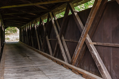 Interior, Locust Creek Bridge - Pocahontas County