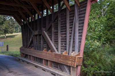 Interior, Laurel Creek Bridge - Monroe County