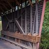 Interior, Laurel Creek Bridge - Monroe County