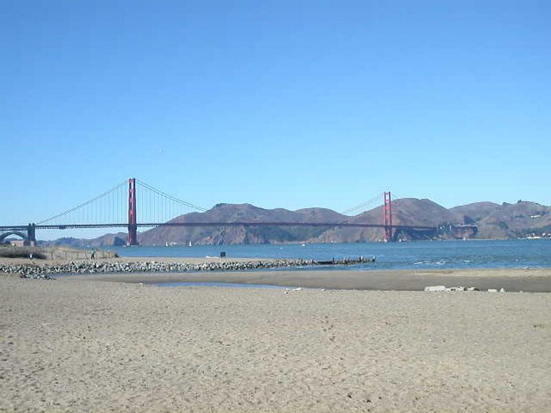 Crissy Field to the Golden Gate Bridge