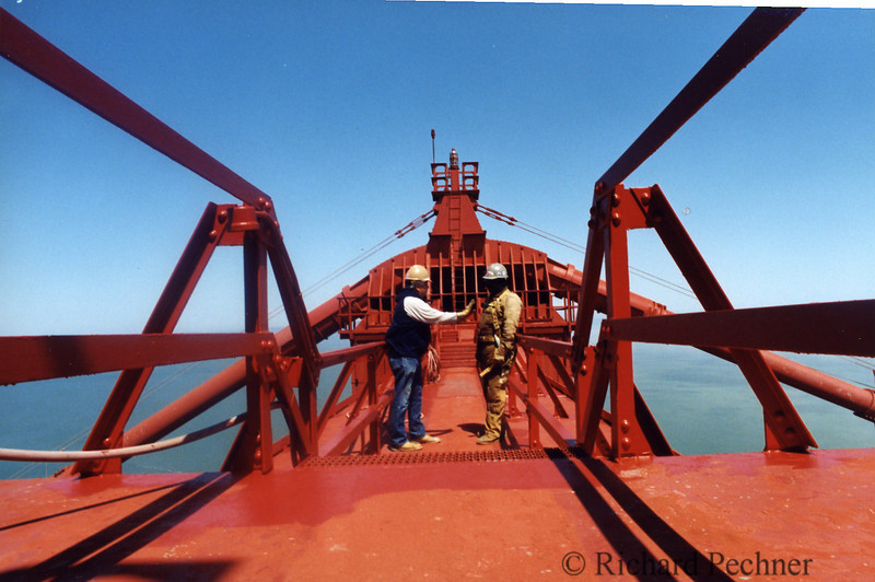 Top of the North Tower, Golden Gate Bridge