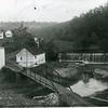 Hollins Mill Dam and Bridge, C. 1890 (4259)
