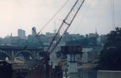 Construction of John Lynch Memorial Bridge (4264)
