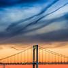Throgsneck Bridge n Streaked Sunset