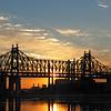 Queensboro Bridge Sunrise Pano