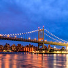 Triboro Bridge with Blue n Reflections