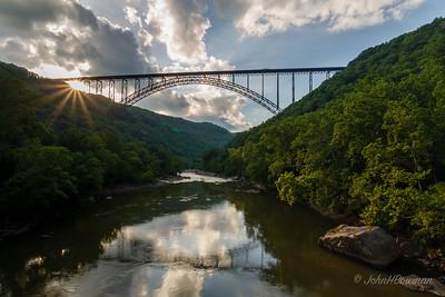 NRG Bridge - Sunset Starburst