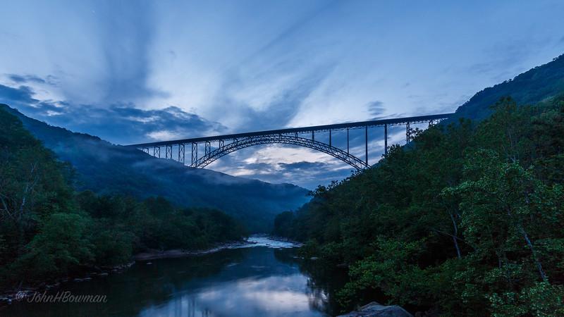 NRG Bridge at Dusk