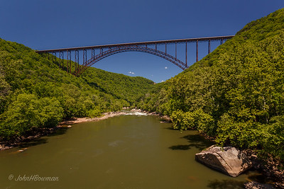 NRG Bridge - from bottom of gorge