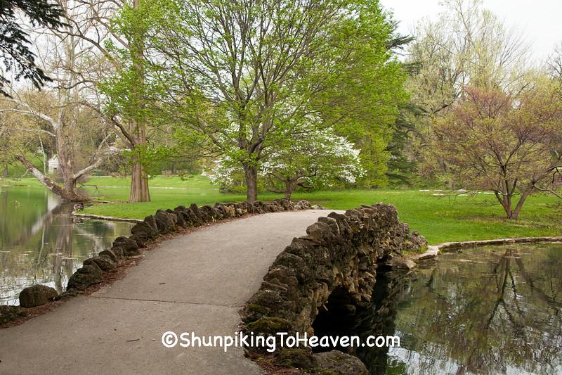 Stone Footbridge, Spring Grove Cemetery and Arboretum, Cincinnati, Ohio