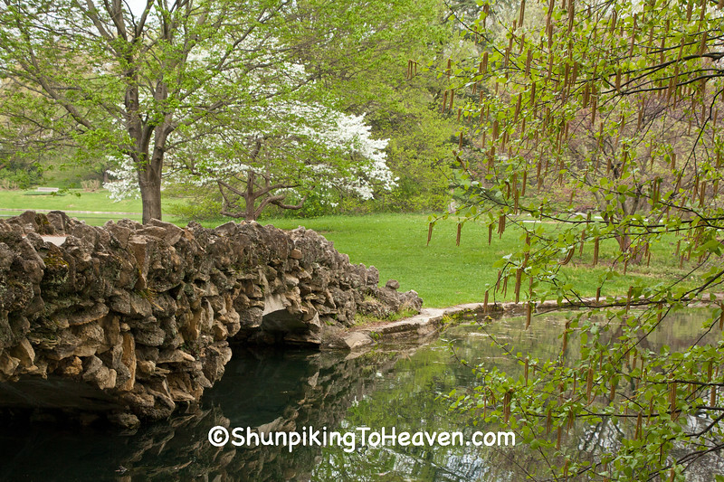 Stone Footbridge, Spring Grove Cemetery and Arboretum, Cincinnati, Ohio