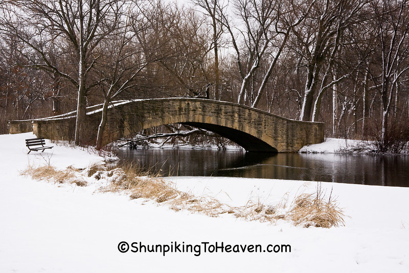 The A. G. Zimmerman Bridge, Tenney Park, Madison, Wisconsin