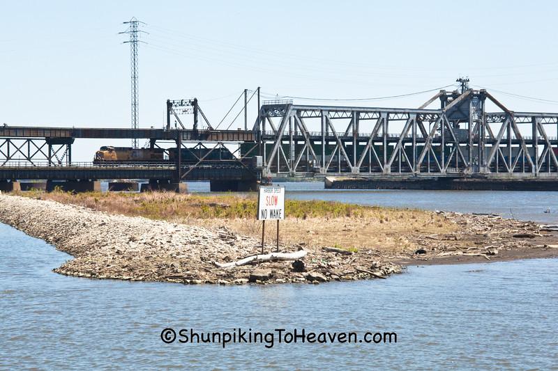 Fort Madison Toll Bridge, Lee County, Iowa