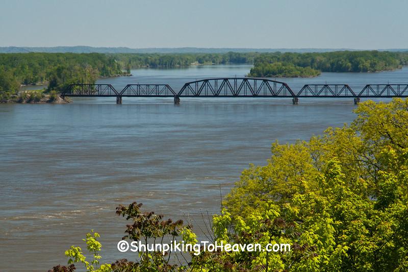 Old RR Bridge, Pike County, Missouri