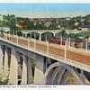 Postcard of Rivermont Bridge and D Street Bridge (02451)