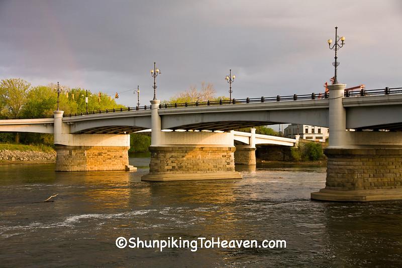 Historic Y-Bridge, Zanesville, Ohio