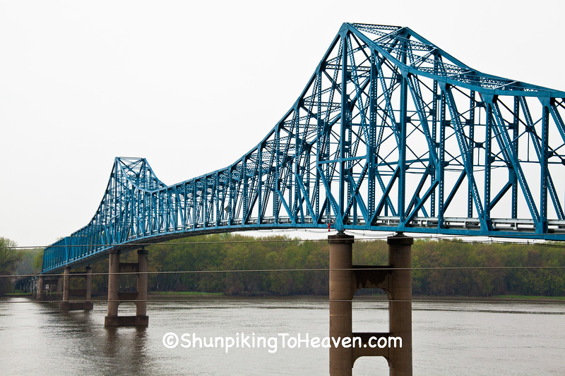 Savanna-Sabula Bridge, Carroll County, Illinois