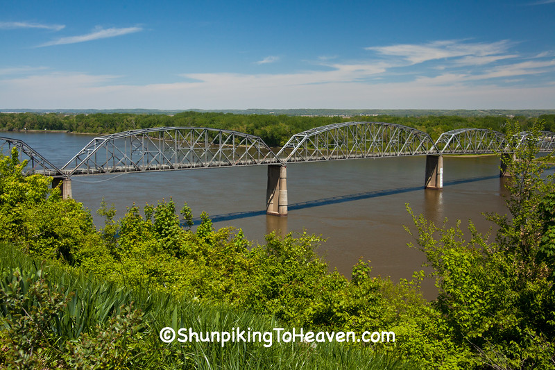 Champ Clark Bridge, Pike County, Missouri