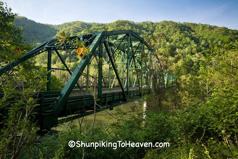 Thomas Buford Pugh Memorial Bridge, Fayette County, West Virginia