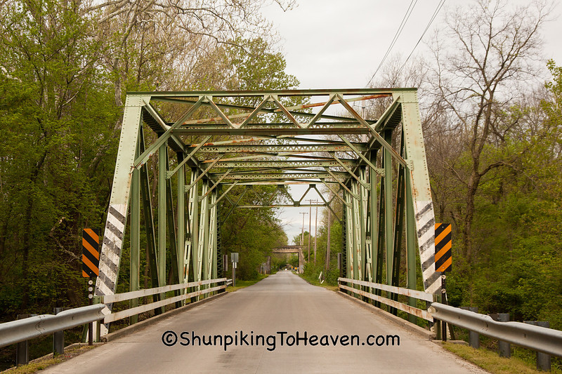 Through Truss Bridge, Madison County, Indiana