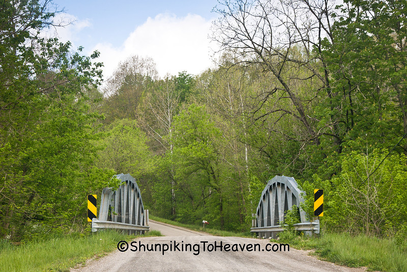 Steel Truss Bridge Over Meigs Creek, Muskingum County, Ohio
