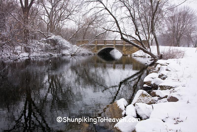 Stone Arch Bridge, Arboretum, UW-Madison, Dane County, Wisconsin