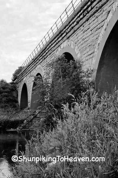 Tiffany Stone Arch Bridge, Rock County, Wisconsin