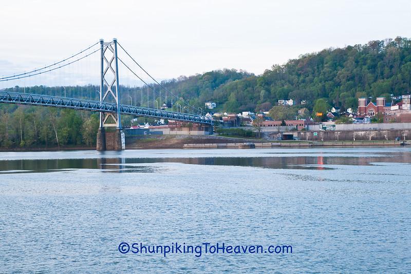 Simon Kenton Memorial Bridge, Maysville, Kentucky