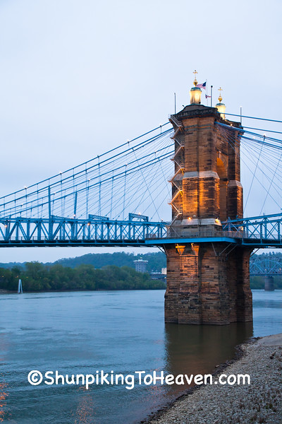 John A. Roebling Suspension Bridge, Cincinnati, Ohio