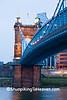 John A. Roebling Suspension Bridge, Cincinnati, Ohio