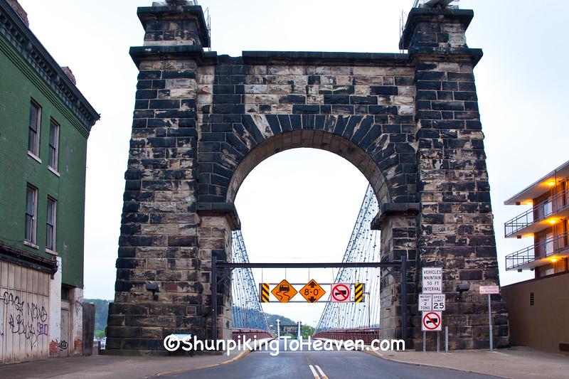 Wheeling Suspension Bridge, Wheeling, West Virginia