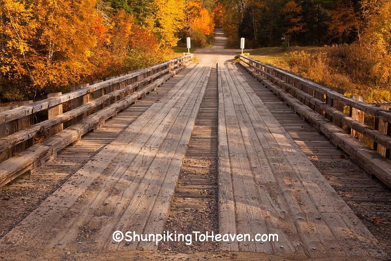 Stock Farm Bridge, Ashland County, Wisconsin