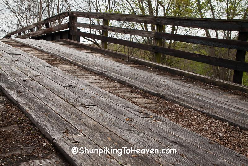 Liberty Street Humpback Bridge, New Concord, Ohio