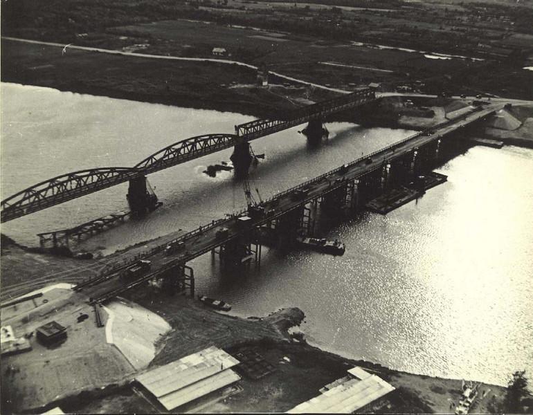 Thach Han River Bridge at Quang Tri-Built by MCB-10, 1970