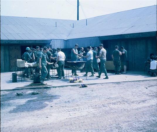 Sunday afternoon off.  First in 30+ days, Det. Juliet, Camp Rhodes 1970.
