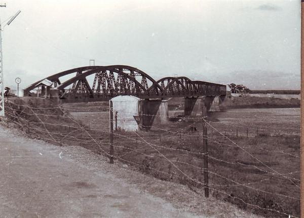 Old Quang Tri bridge, maybe 1968.
