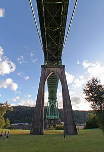 St. Johns Bridge  Sigma 18-50mm f/2.8 EX DC and Fisheye Converter