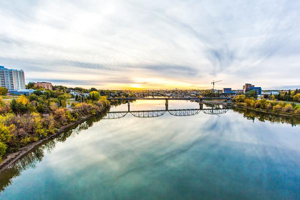 River in Saskatoon