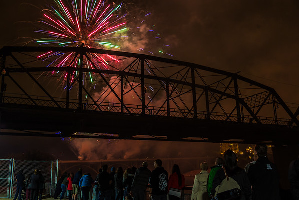 Fireworks Festival on the River