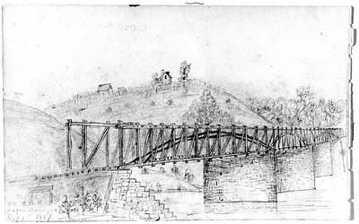 1857 Sketch of the Wagon Bridge (4247)