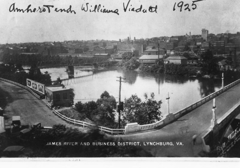 View of Williams Viaduct and the Ninth Street Bridge, C. 1925 (4248)