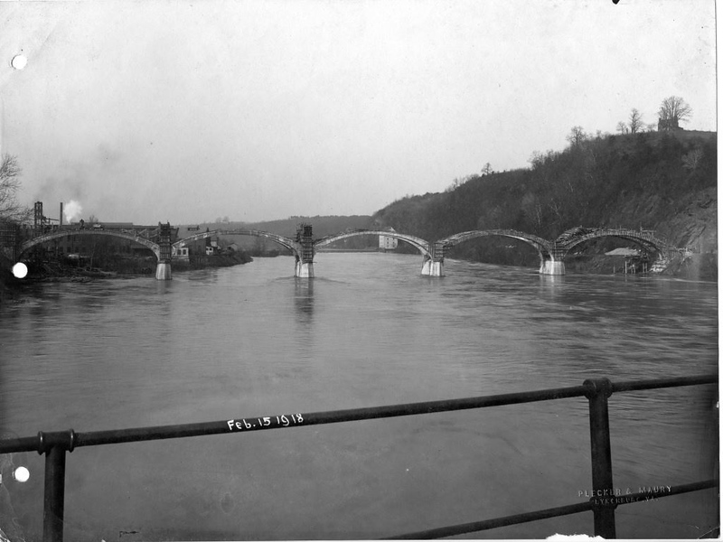 Williams Viaduct Under Construction,1918  (09592)