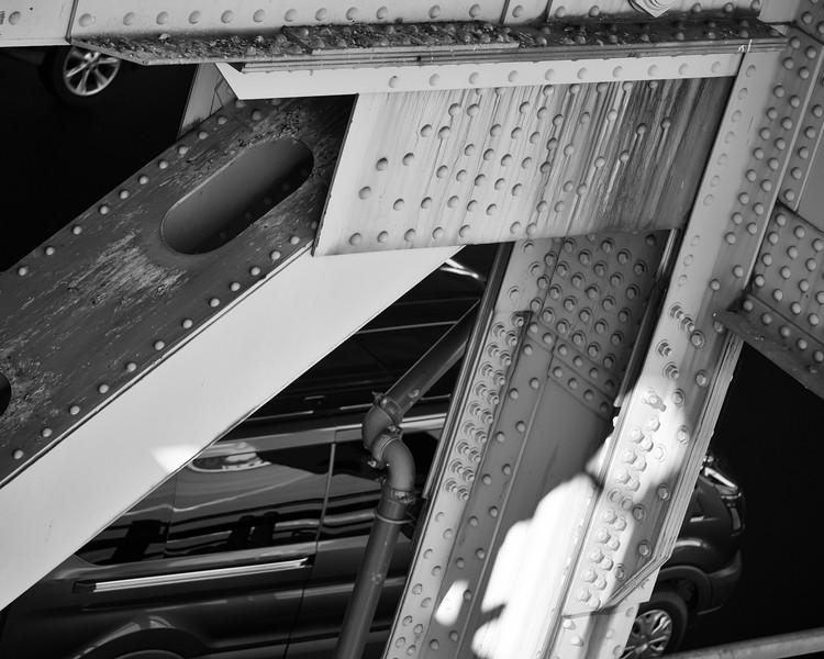 George Washinton Bridge Rust