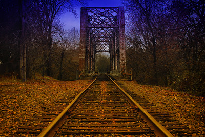 PNWR Calapooia River Bridge