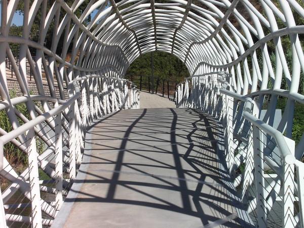 Through The Bridge Closeup