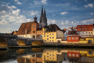 Steinerne Brücke, Regensburg, Bavaria
