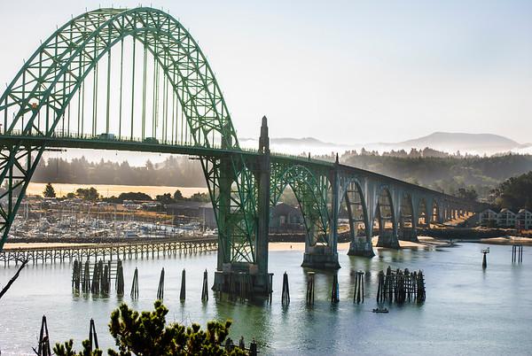 Ghosty Morning In Newport Oregon
