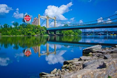 The Mississippi River - Minneapolis / St Paul, Minnesota, USA
