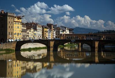 Ponte Santa Trinita and Ponte Vecchio, Florence