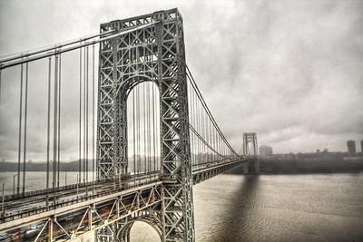 George Washington Bridge, Fort Lee, New Jersey, USA